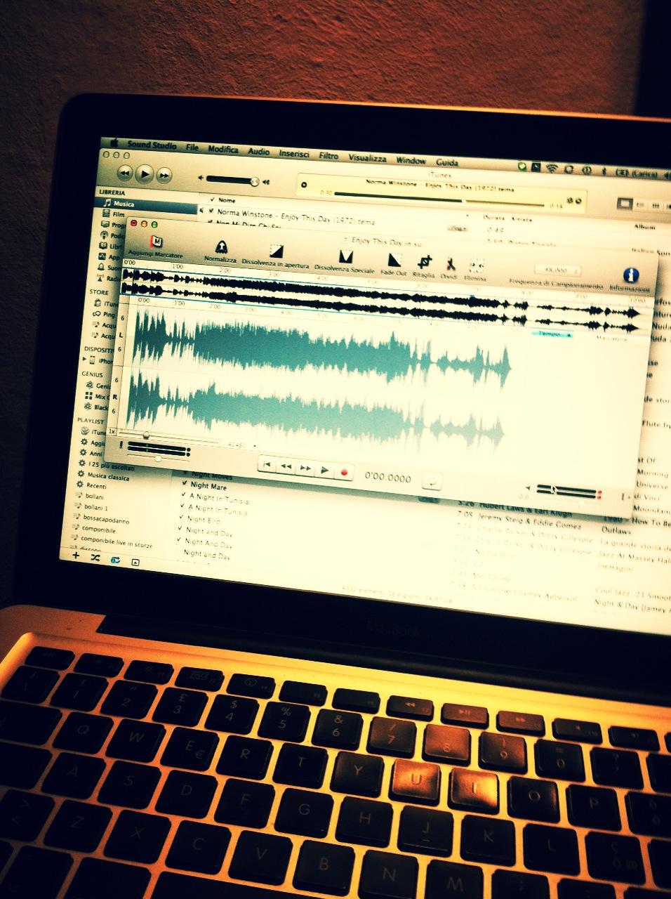 Verifica! Editing with Alberto Igne at Sphera Studio - Gaiarine (TV)